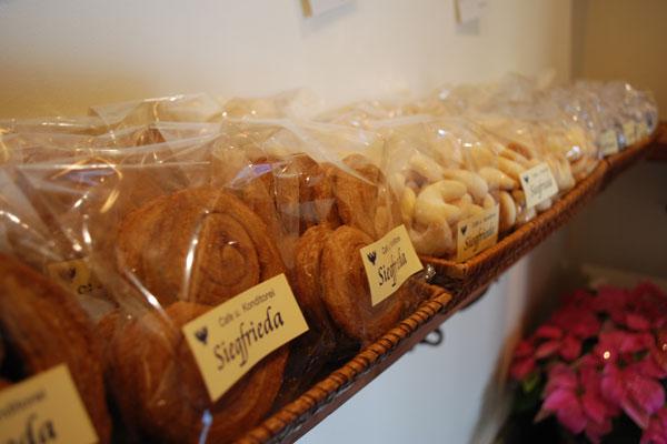 シナモンの効いたさくさくのパイ菓子