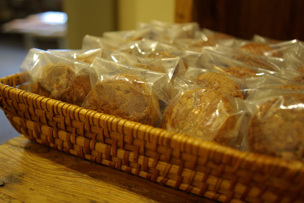 ほろ苦い香ばしい厚焼きクッキー