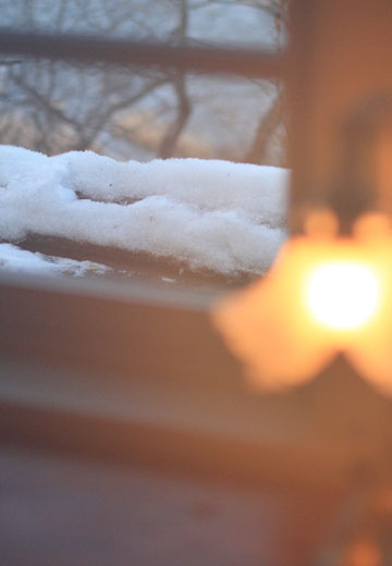 雪や雨、自然はいろんな表情を楽しませてくれます。